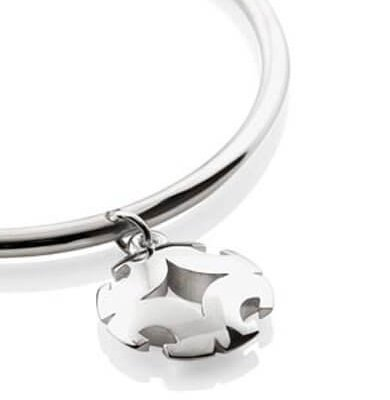 PERFECT BALANCE – CHARM BANGLE IN SOLID STERLING SILVER